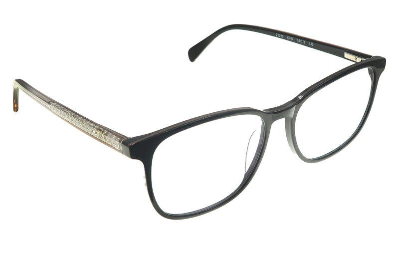 Square Computer Glasses with Blue Light Filter